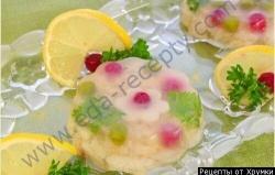 Кулинарный рецепт Заливная рыба с фото