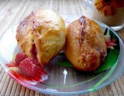 Как приготовить Пирожки с малиной рецепт с фото