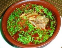 Кулинарный рецепт Рисово-овощной суп из баранины с фото