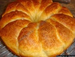 Кулинарный рецепт Сербский хлеб Погачице с фото