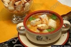Рецепт Гороховый суп на бульоне из баранины по-грузински с фото