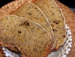 Рецепт Домашний хлеб из патиссонов с чесноком и имбирем с фото