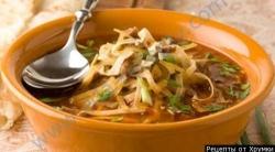 Кулинарный рецепт Суп Кесме с фото