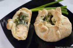 семга в слоеном тесте рецепт приготовления блюда