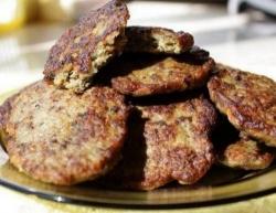 Кулинарный рецепт Оладьи из рубленой печени с фото