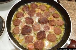 Кулинарный рецепт Almondegas (фрикадельки) с фото
