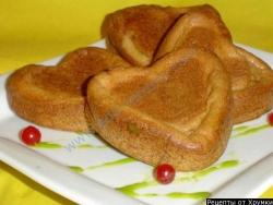 Блинные булочки к завтраку