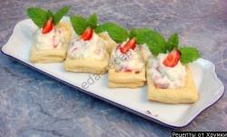 Тарталетки сладкие рецепт с фото
