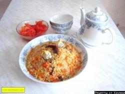 Плов классический узбекский
