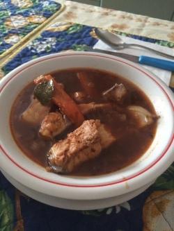 Кулинарный рецепт Венгерский гуляш из рыбы с фото