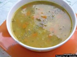 Кулинарный рецепт Шотландский перловый суп с фото