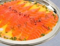 Кулинарный рецепт Карпаччо из лосося с фото