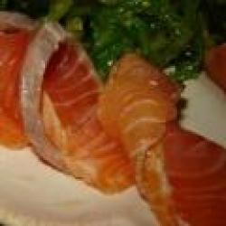 Кулинарный рецепт Сладкий маринованный лосось с фото