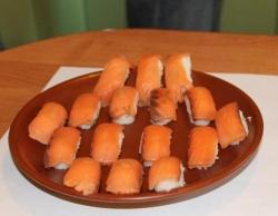 Кулинарный рецепт Домашние роллы и нигири суши с фото