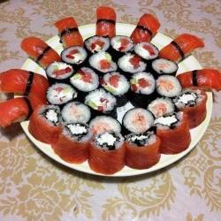 Кулинарный рецепт Нигири суши и роллы с фото