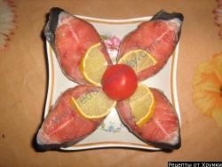 Горбуша малосольная рецепт приготовления