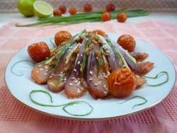 Рецепт Сашими из лосося от Нобуки Матсушима с фото