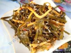 Кулинарный рецепт Морская капуста по корейски с фото