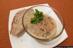 Рецепт Салат из рыбных консервов Сладкий тунец с фото