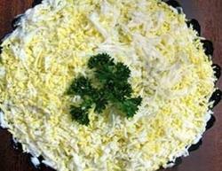 Салат Грибы с черносливом