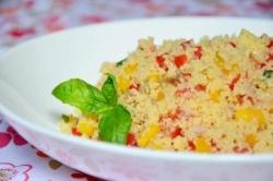 Кулинарный рецепт Салат из кускуса и тунца с фото