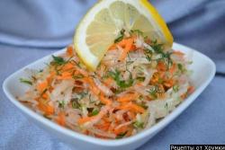 Кулинарный рецепт Салат Фитнес с фото
