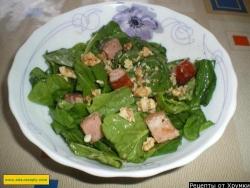 Салат из шпината (голландский)
