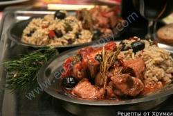 Рецепт Мясо по-итальянски под томатным соусом с фото