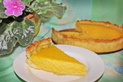 Кулинарный рецепт Тыквенный пирог Желтое настроение с фото