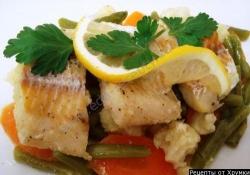 Рыба тушеная рецепт приготовления