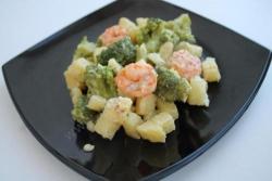 Как приготовить Брокколи с креветками рецепт с фото