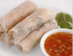 Рецепт Вьетнамские рулетики из рисовой бумаги с фото