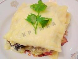 Овощная вегетарианская лазанья рецепт с фото