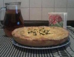 Пирог с грибами и картофелем рецепт с фото