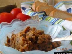Кулинарный рецепт Паста из баклажан с фото