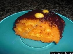 Кулинарный рецепт Морковный рулет с фото