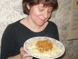 Кулинарный рецепт Соевый гуляш с фото