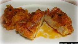 Рыба Пикша жареная в маринаде