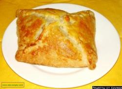 Греческий слоеный пирог с мясом