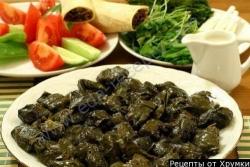 Кулинарный рецепт Голубцы молдавские - сармале с фото