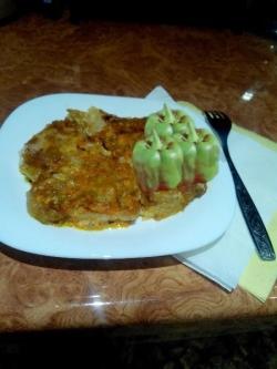 Кулинарный рецепт Пангасиус с овощами в духовке с фото