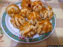 Кулинарный рецепт Клубочки из фарша с фото