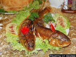 Рецепт Фаршированная рыба по-азербайджански с фото