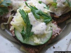 Кулинарный рецепт Smorrebrod - датский бутерброд с фото