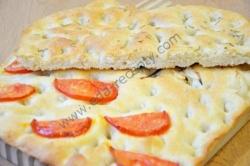 Хлеб фокачча тонкая