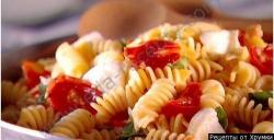 Как приготовить Спагетти с помидорами и моцареллой рецепт с фото