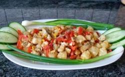 Рыба с ананасами рецепт с фото