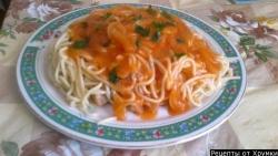 Как приготовить Постные макароны рецепт с фото
