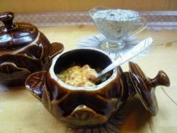 Кулинарный рецепт Жульен с кальмарами с фото