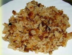 Рис с изюмом